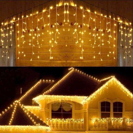 Iluminações de Natal - Cortinas Led, Figuras, Grinaldas, etc.