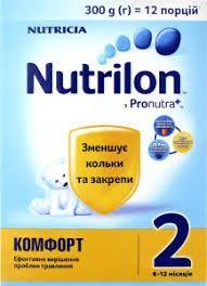 Детская смесь Нутрилон Комфорт 2 (300 г)