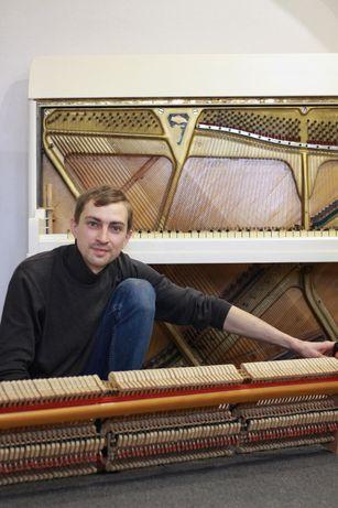 Настройка и отладка пианино (фортепиано)