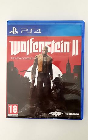 PS4 Wlofenstein II the new colossus PL