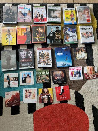 Zestaw filmów cd i dvd