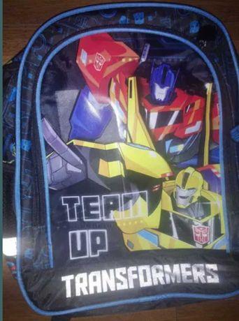 Plecak szkolny Transformers Nowy