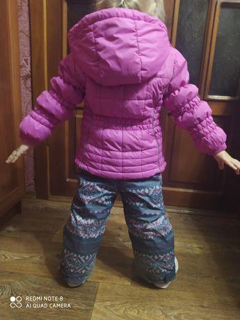 Зимовий комбінезон, комбинезон, термокомбинезон, костюм Chicco 92р.