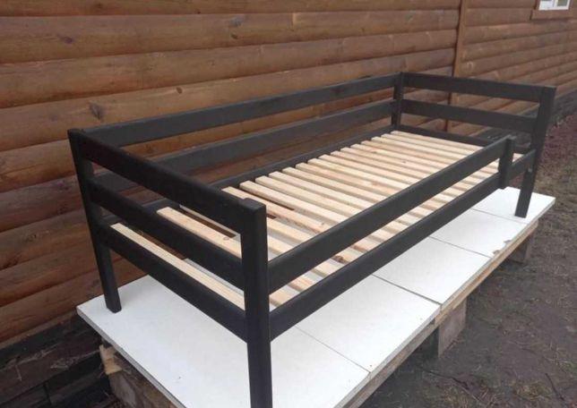 Кровать для детей Aзуp цeльное дepeво