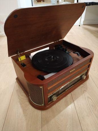 Belle Epoque 1908 Vintage Stereo Vinyl CD MP3 USB Gramofon