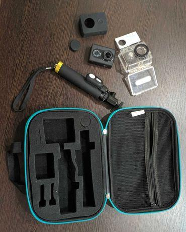 Экшн камера xiaomi yi action camera с комплектом аксессуаров