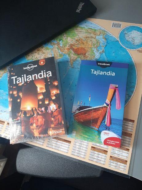 Tajlandia Lonely Planet - Zafoliowana + Bezdroża Tajlandia Travelbook