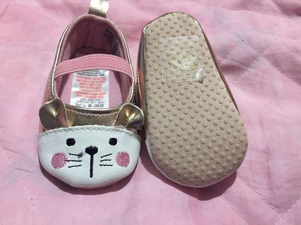 Взуття нове,пінетки,туфельки для дівчинки 12,5 см встілка Primark