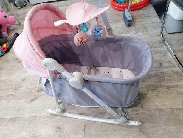 Kinderkraft Unimo 5w1, leżaczek, bujaczek, krzesełko