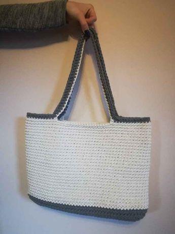 torba na szydełku handmade