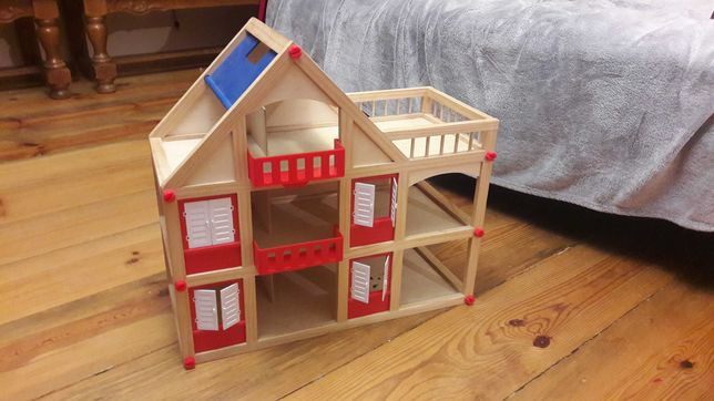 domek dla lalek+mebelki
