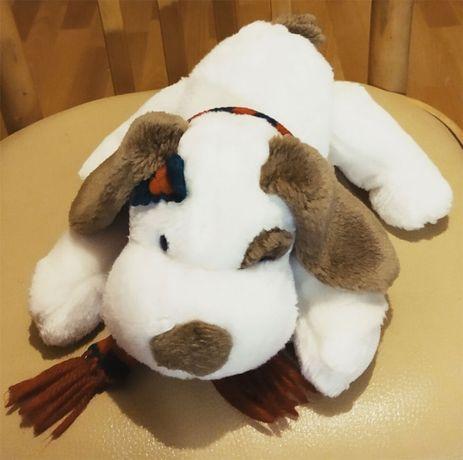 Игрушка мягкая Собака с шарфом