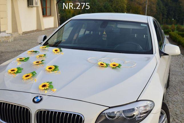 Sztuczna dekoracja na samochód-SŁONECZNIKI ozdoby na auto-stroiki