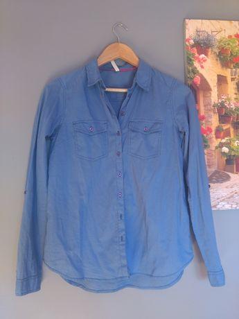 Niebieska koszula Reserved, rozmiar 34