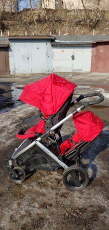 коляска двойная трансформер детская