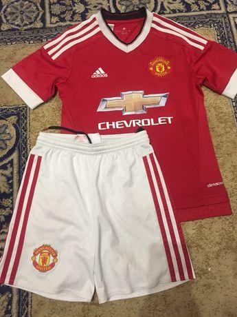 Оригинал! Форма футбольная Manchester adidas футболка шорты