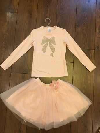 Нарядный костюм : юбка и кофта