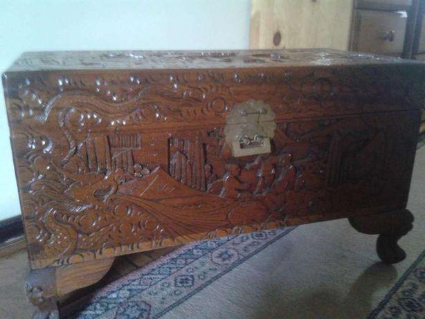 Arca de madeira de cânfora