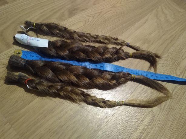 Włosy naturalne dziewicze 28 cm w warkoczu 86 g