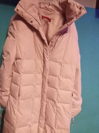 Płaszcz ciepły, kurtka TAIFUN , okazja kolor brudny róż