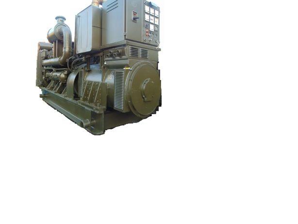 Agregat prądotwórczy produkcji Z.M.I.N Warszawa – typ 84ZPP78H12