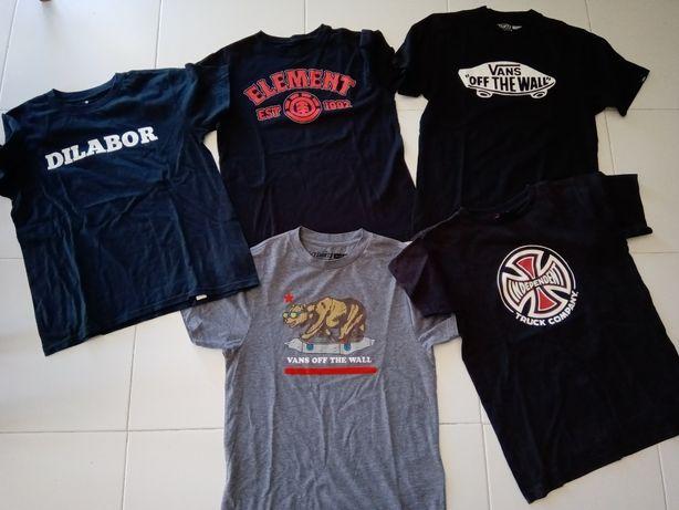 T shirts skate para 10 anos