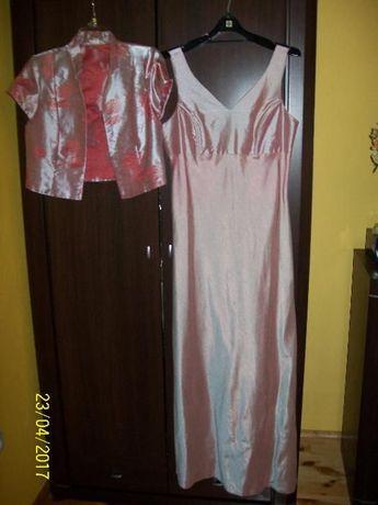 Bolerko i sukienka. suknia OKAZJA roz. 42
