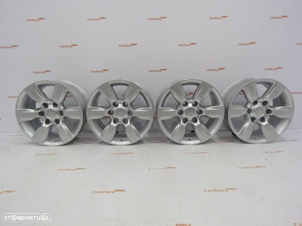 Jantes Look Toyota Hilux 17 x 7.5 et 25 6x139.7 CB106.1 Cinza prata