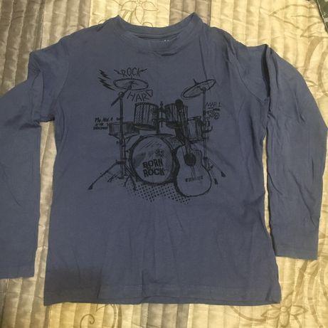 Bluza cienka, koszulka z długim rękawem