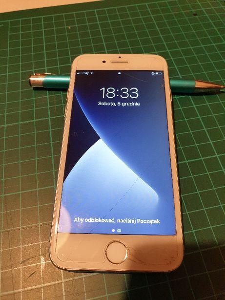 Iphone 7 32 Gb pamięci ładowarka+ pudełko - wylogowany