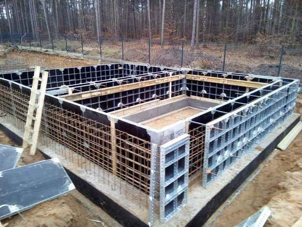 Szalunek ścienny 105 m2 typ tekko, szalunki lekkie nie używane