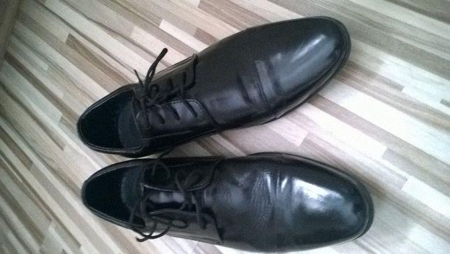 Buty młodzieżowe/męskie wizytowe SKÓRA 26cm (40-41)