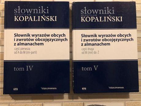 Słownik wyrazów obcych i zwrotów obcojęzycznych.. T.IV -V. Kopaliński.