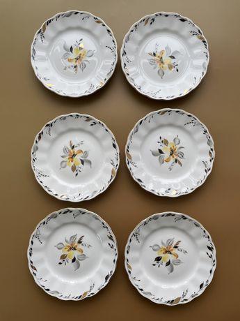 Тарелки десертные лфз, цена за набор, фарфор, посуда ссср