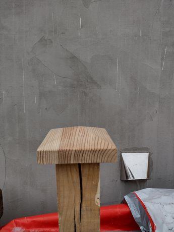 Daszek drewniany na słupek -murłate 14x14
