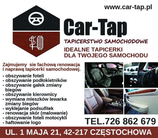 Tapicer Tapicerstwo Samochodowe Częstochowa Car-Tap