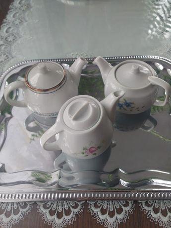 Czajniczek, imbryk, zaparzacz do herbaty imbryk PRL Wawel - metka