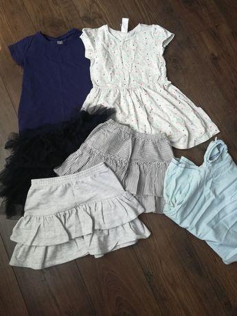 Sukienki i spódnice r. 122/128
