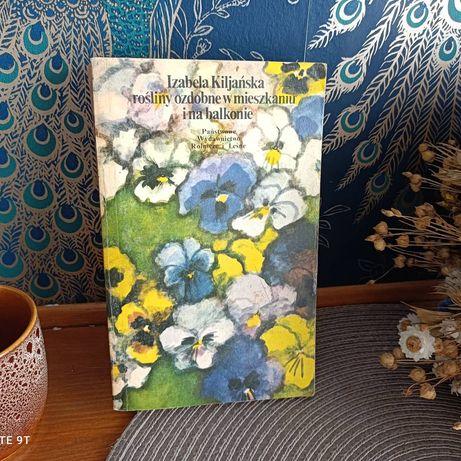 Książka Rośliny ozdobne 1977