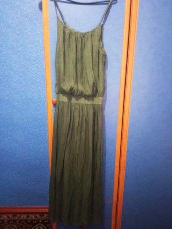 Длинное лёгкое платье
