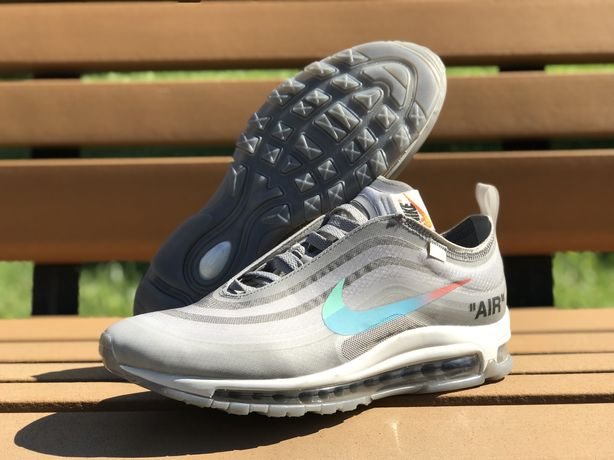 Кроссовки Nike Air Max 97 Off White Gray.