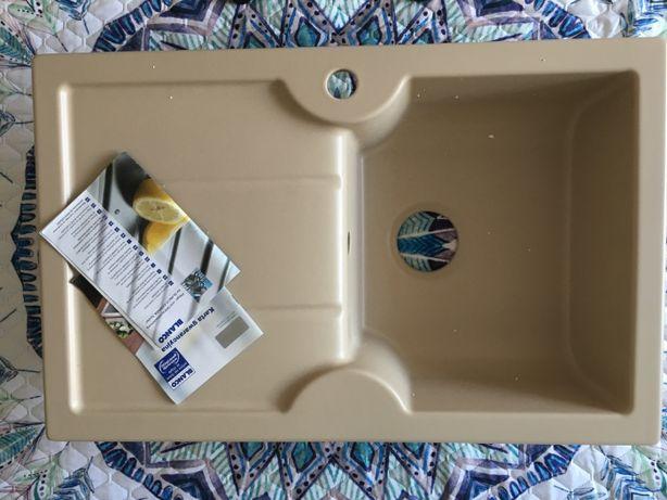 Кухонна мийка BLANCO IDESSA 45S (514493) кераміка кашемір, раковина