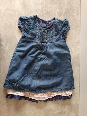 sukienka r. 86, 12-18 m-cy