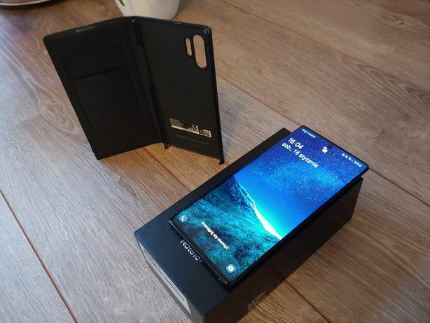 Samsung Galaxy Note 10+ Plus Dual SIM 12/256 Aura Black Etui LED
