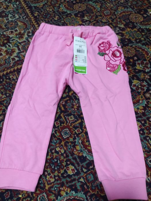 Spodnie KappAhl róże rozmiar 86 Oleśnica - image 1