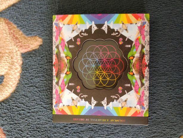 Płyta Coldplay a head full of dreams