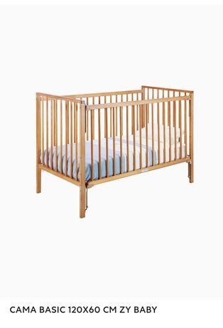 Vendo cama de grades de bebé