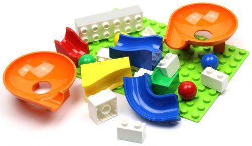 Детский конструктор-лабиринт с шарами Hubelino Twister Expansion