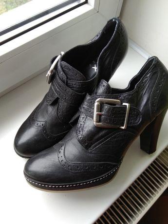 Ботинки, полусапожки, черевики, Max shoes, натуральная кожа, 39 размер