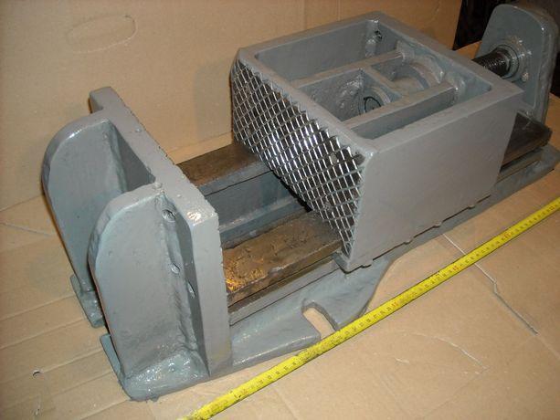 Imadło maszynowe ślusarskie duże 85 kg STALOWE.